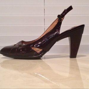 Söfft Handcrafted Women's Burgundy Heels Size 10